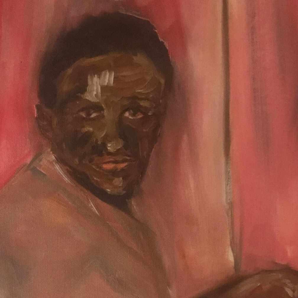 portrait 02 - detail © rl busséll 1982