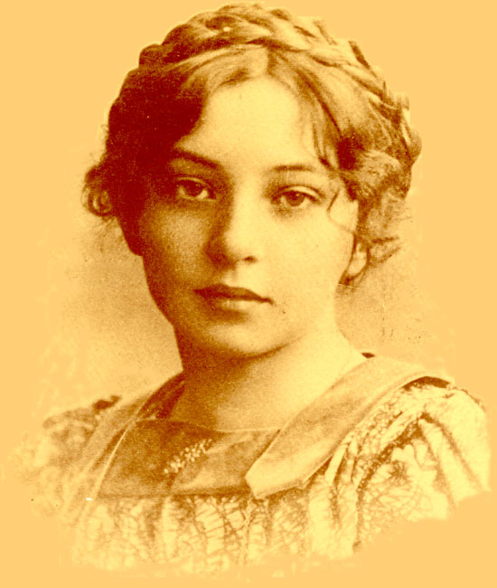 Sigrid Undset as a young girl - Photographer Unknown